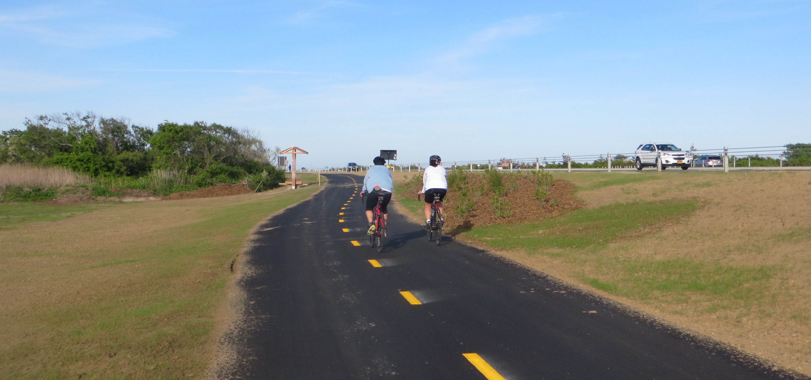 Shared Bikeway in jones Beach